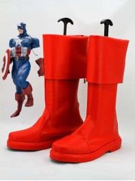 Captain America The Avenger Superhero Boots