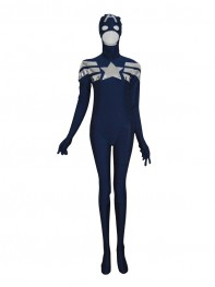 New Style 2014 Captain America Male Superhero Costume