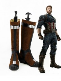 Captain America Avengers Infinity War Version Female Cosplay Boots