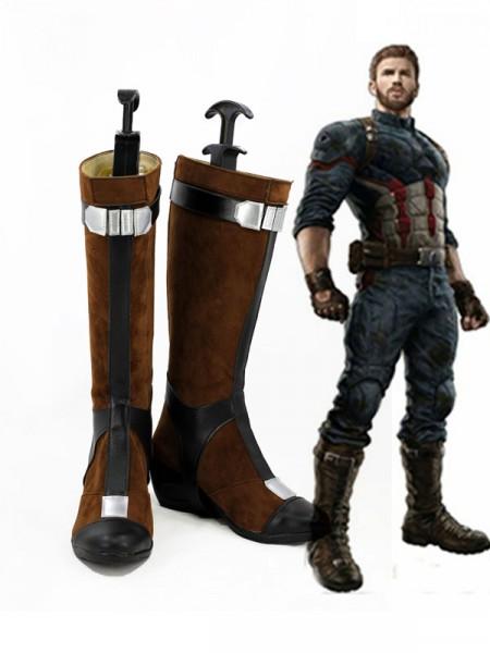 Avengers Infinity War Botas de Capitán América de Versión Femenina