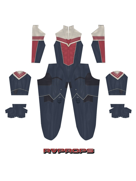 The Falcon and the Winter Soldier Falcon Sam Wilson Cosplay Costume