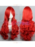 Firestar Red Female Superhero 80cm Wig