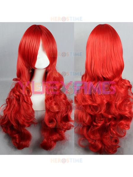 Peluca Roja de Estrella de Fuego de 80cm