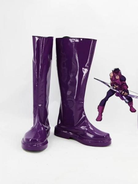 Botas Violetas de Ojo de Halcón