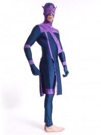 Navy Blue Avengers Hawkeye Spandex Costume