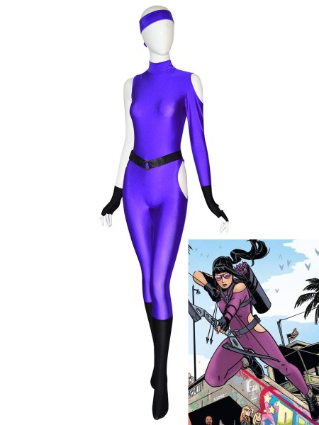 Kate Bishop Suit Hawkeye Marvel Future Fight Young Avengers Halloween Cosplay Cosutme