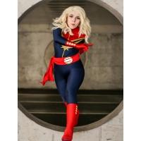 2018 Último Traje de Superheroína MsMarvel (Carol Danvers) para Mujeres