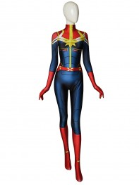 Captain-Marvel MsMarvel Cosplay Costume
