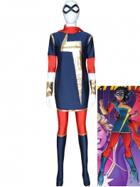 MSMarvel Kamala Khan Girls Superhero Costume
