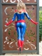 Captain Marvel Carol Danvers Cosplay Costume Halloween Costume
