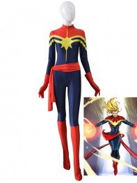 MsMarvel Carol Danvers Female Superhero Costume