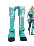 Avengers Endgame Cosplay Captain Marvel Boots