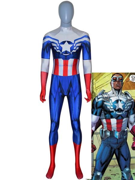 Traje de Capitán América (Sam Wilson Falcon)