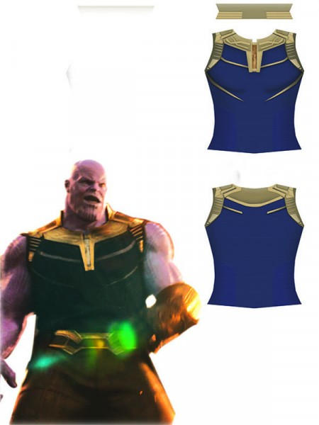 Camiseta sin mangas de Thanos de  Avengers: Infinity War