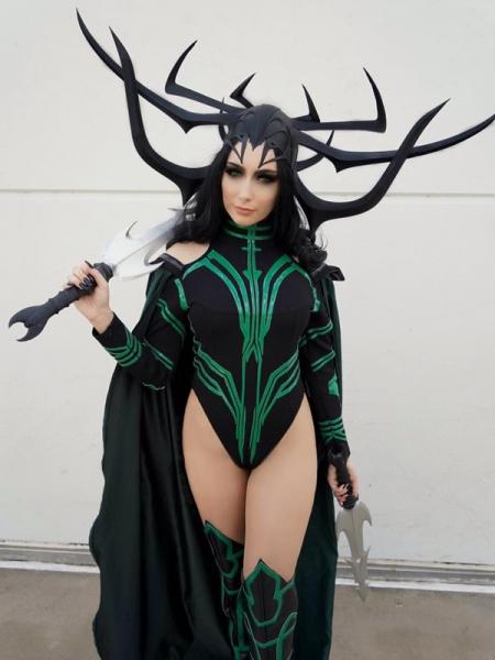 Hela Cosplay Costume Thor: Ragnarok Costume Leotard Style
