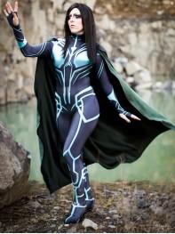 Hela of Thor: Ragnarok Printing Cosplay Costume