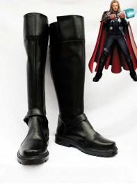 Thor Black Superhero Cosplay Boots