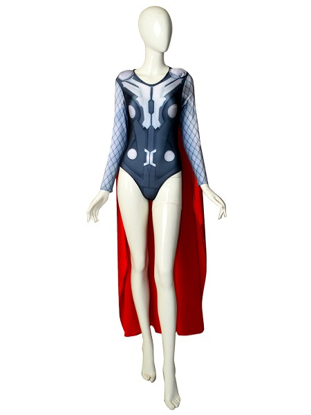 Thor Leotard Sexy Version Female Superhero Costume