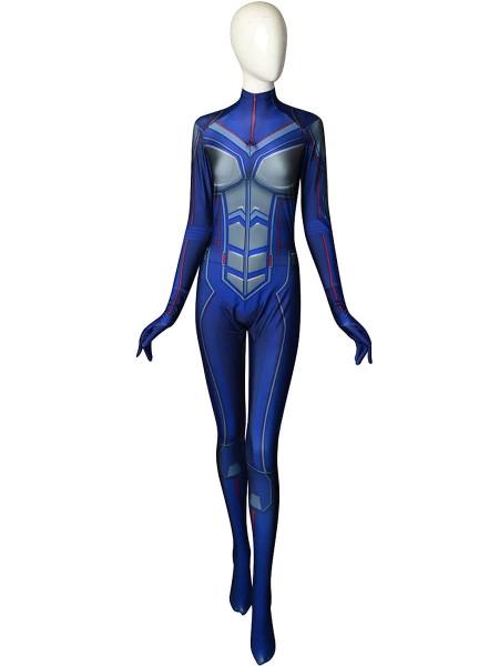 Ant-Man y la Avispa Disfraz de Avispa de Spandex de Impresión 3D