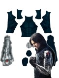 Winter Soldier Suit Bucky Barnes T Shirt Long Sleeves