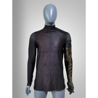 Bucky Costume Falcon And The Winter Soldier V2 T Shirt Long Sleeves