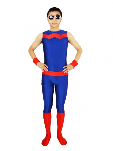 Wonder Man Spandex Superhero Costume