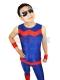 Wonder Man Spandex Superhero Costume