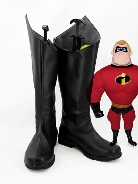 Mr Incredibles The Incredibles 2 Bob Parr Superhero Cosplay Boots