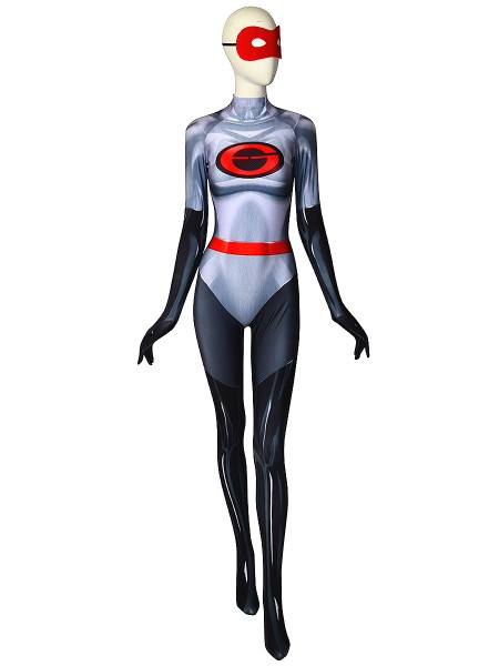 The Incredibles 2 Elastigirl V2 Printing Spandex Catsuit