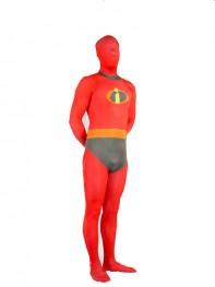 The Incredibles-Mr Incredible Fullbody Superhero Costume