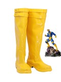 X-Men Cyclops Yellow Cosplay Boots