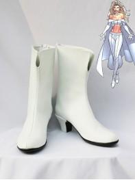 X-Men Emma Frost Short Superhero Cosplay Boots