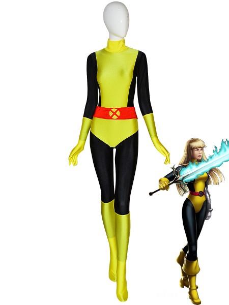 Traje de Magik/Cypher  Disfraz de superhéroe de X-Men para Halloween Cosplay