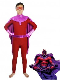 X-men Magneto Spandex Superhero Costume