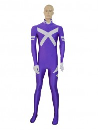 Marvel Comics Psylocke Purple Female Superhero Costume