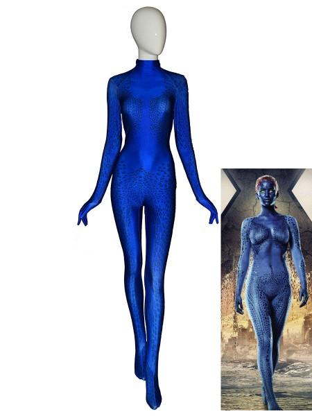 X-men Disfraz de Mystique Cosplay Disfraz de Halloween
