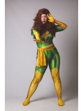 2018 Phoenix X-men Jean Grey Dyesub Girls Superhero Costume