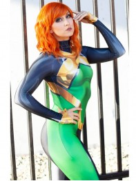 Jean Grey Costume X-men Phoenix Superhero Cosplay Suit