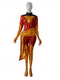 X-men Phoenix Jean Grey Shiny Superhero Costume