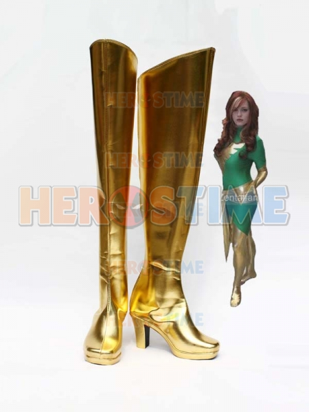 Botas de Phoenix (Jean Grey) de X-men