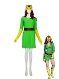 Original Marvel Girl Spandex Superhero Costume