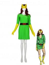 X-men Phoenix Spandex Superhero Costume