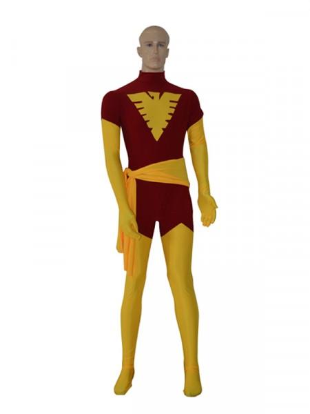 Traje de Phoenix Jean Gray de X-men de Spandex  Disfraz de superhéroe