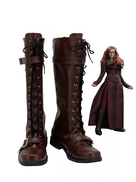 Phoenix Shoes X-Men Dark Phoenix Cosplay Boots