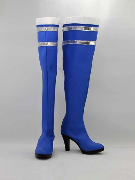Psylocke X-men Blue High Heel Superhero Boots