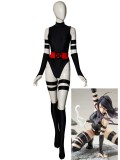 Black & Red Psylocke Suit X-men Cosplay Costume