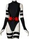 Black & Red Psylocke Suit X-men Cosplay Costume
