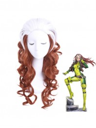 60cm X-men Rogue Cosplay Wig