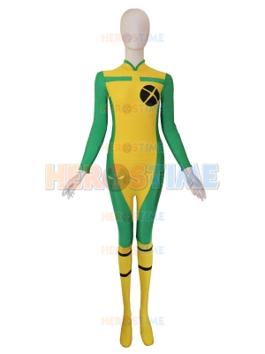 New Style X-men Rogue Spandex Superhero Costume