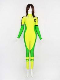 Newest Hot X-men Rogue Spandex Superhero Costume